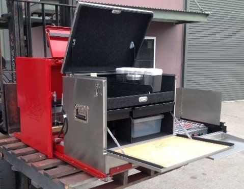 Custom Kitchen Fit-out for Semi Trailers -
